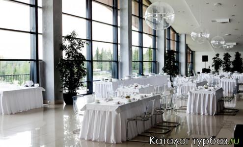 ресторан на курорте Игора