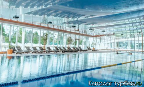 бассейн на курорте Игора