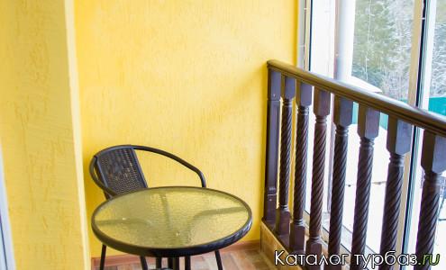 Балкон номера люкс