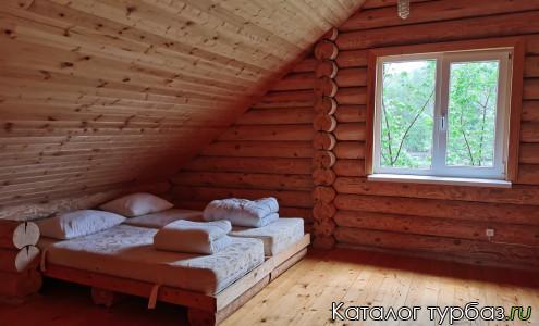 Летний коттедж спальня