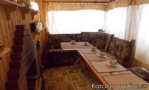 чайная комната в  бане