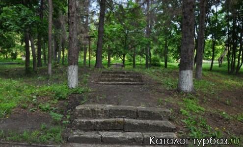 Фрагмент старинных ступеней к «месту силы»