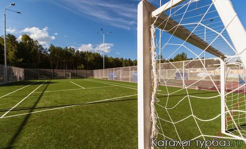 Футбольное и теннисное поле