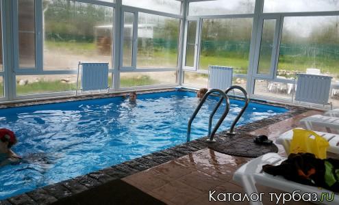 бассейн с подогревом