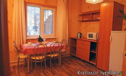 Кухня в одном из номеров