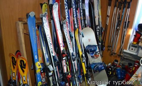 Пункт проката зимнего спортивного снаряжения