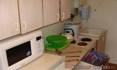 Оборудованная кухня коттеджей