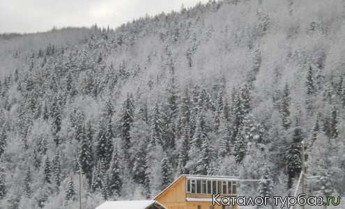 База отдыха зимой