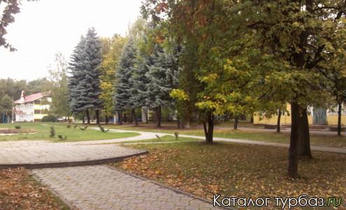 Территория парковой зоны