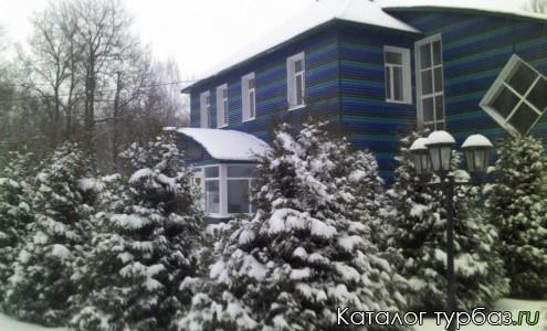 Спа-центр зимой
