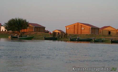 База отдыха Астрахани «Рыбалкино»