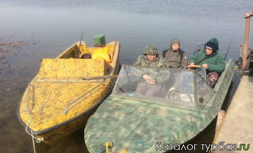 Лодки в наличии