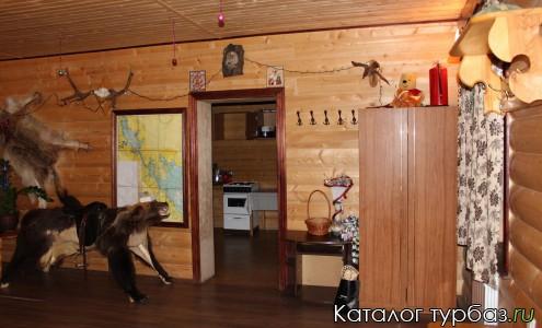 Рыболовно-охотничья база «Волчица»