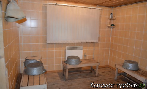 Моечная в бане гостевого дома У Михалыча