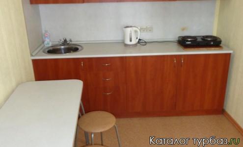 Коттедж №1 кухня
