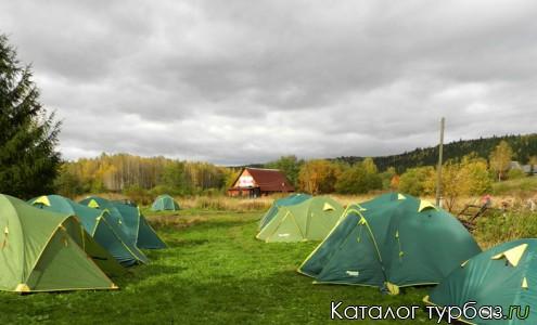 Возможно установить палаточный лагерь