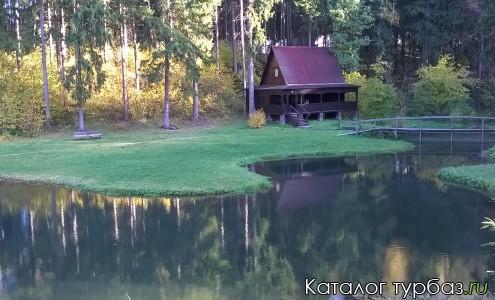 Сауна на берегу озера