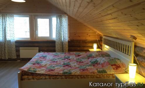 2-й этаж, спальня в Черничном