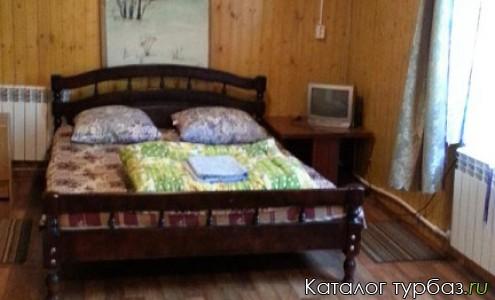 домик Двухкомнатный, с дровяной печкой на 6 человек