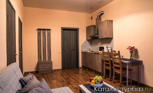 Номер люкс с кухней