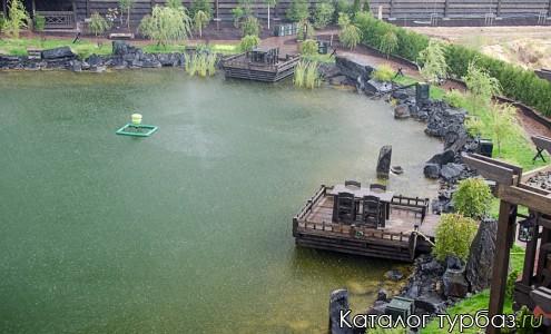 Озеро. Вид со сторожевой башни.