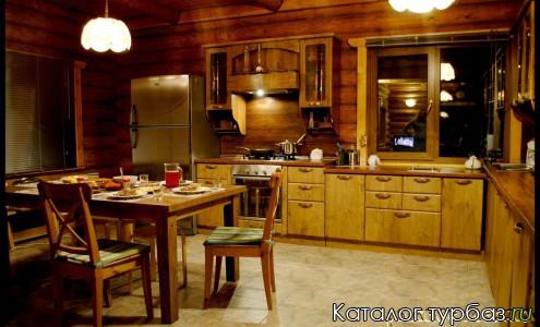 кухня коттеджа №1