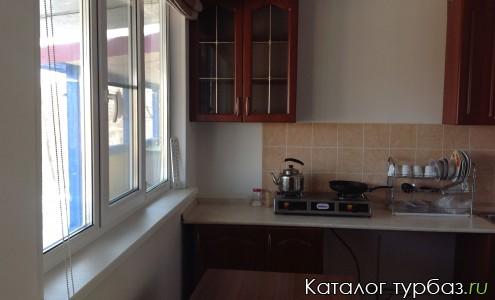 кухонная зона люкс