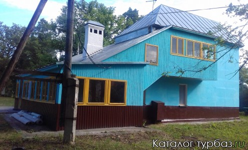 Большой домик