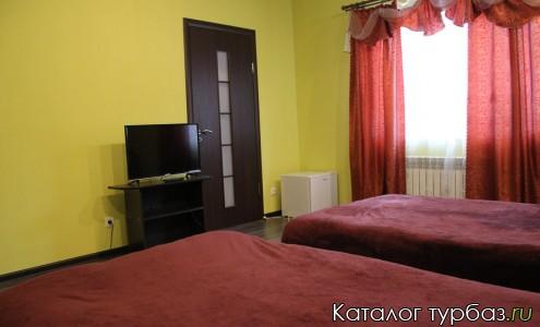 №6-апартаменты с раздельными кроватями