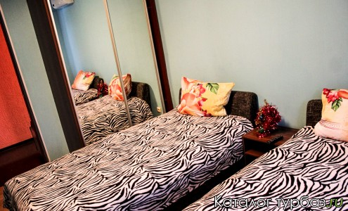 №1-стандартный с раздельными кроватями