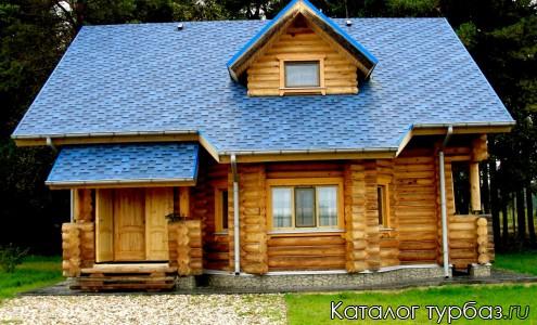 Синий кедровый дом