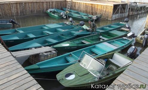 Лодки базы