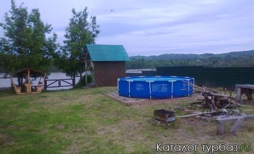 бассейн напротив бани
