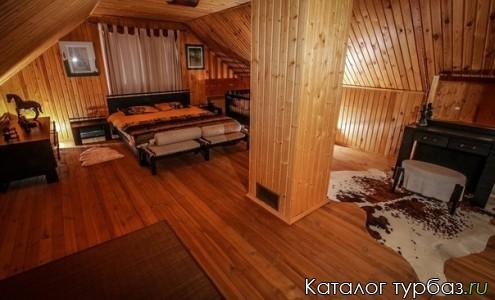 2 этаж, гостевой домик - баня