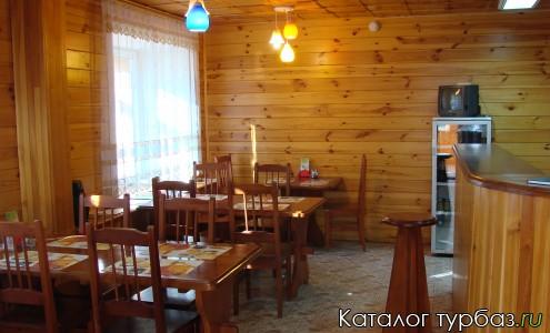 Кафе базы отдыха Лагуна