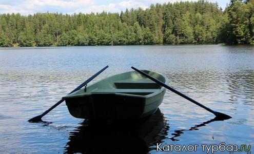 Прокат лодок на базе отдыха Солнечный берег