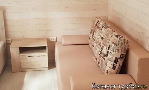 домик повышенной комфортности