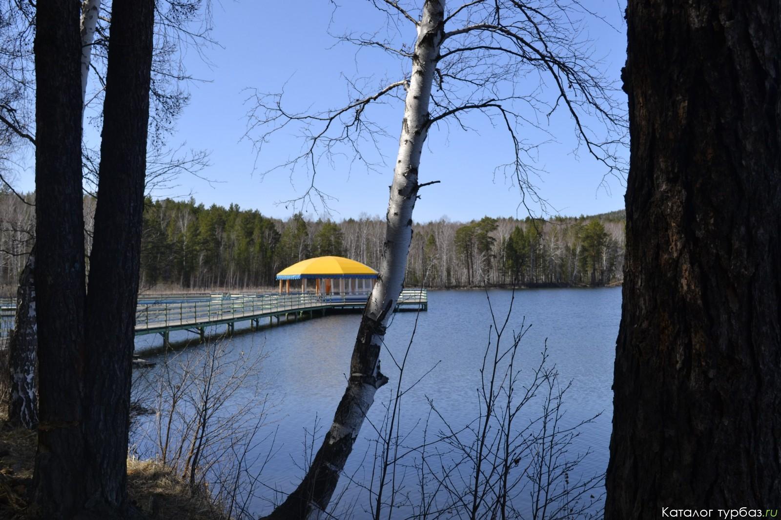 Where is the lake Alabuga 35