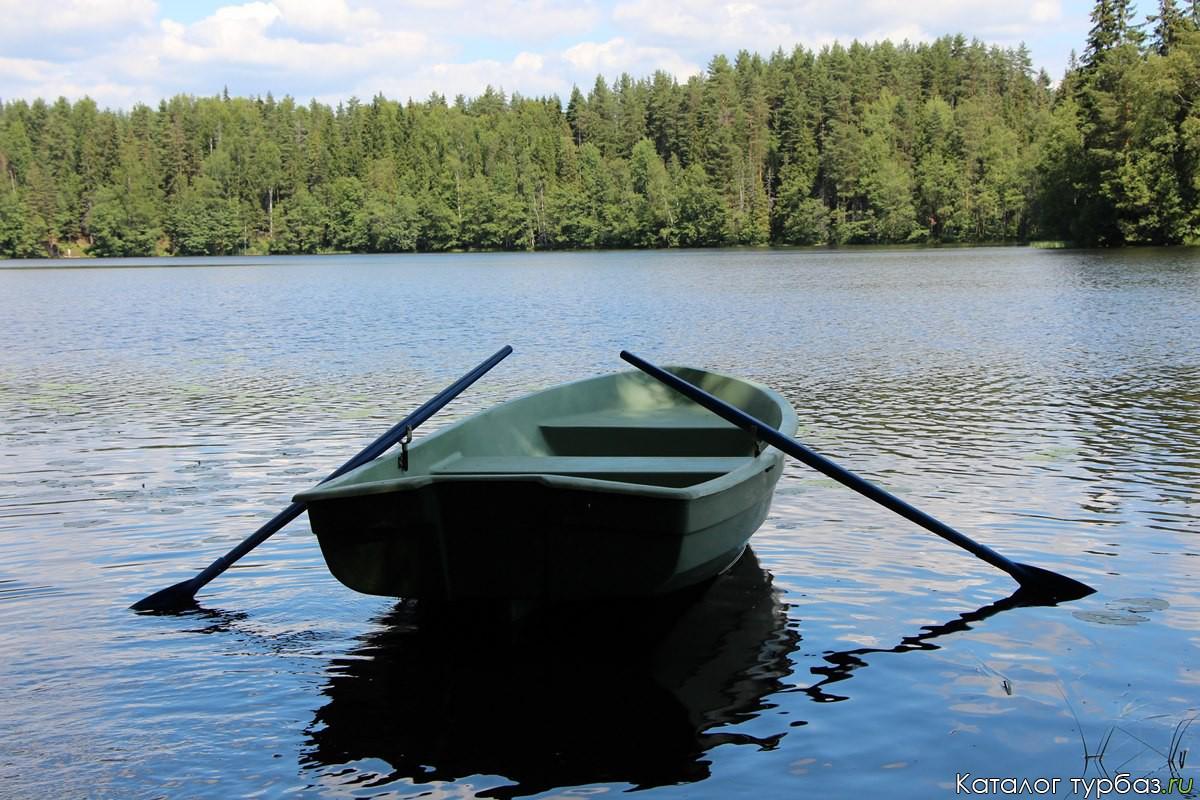 картинки лодка с веслами