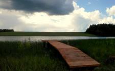мосток для рыбалки