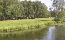 берег озера Карбалык, вид с пристани